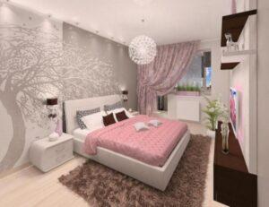 ألوان غرف نوم